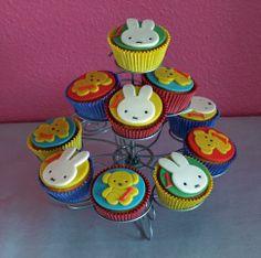 Nijntje cupcakes/ Miffy Cupcakes