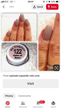 Nude Nails, Engagement Rings, Beige Nail, Wedding Rings, Commitment Rings, Simple Nails, Diamond Engagement Rings, Engagement Ring, Wedding Bands