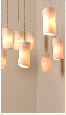 porcelain lighting. love these porcelain lights on etsy by ultralighting ronnie or of te aviv israel more soft warm lighting not harsh doesnu0027t compete with daylight b