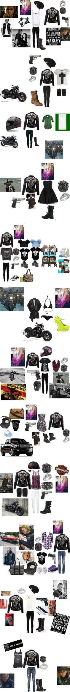 """Sons Of Anarchy 3"" by patricklovesniallandkevin ❤ liked on Polyvore"