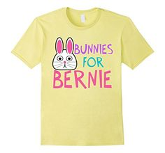Bunnies for Bernie Sanders. A cute t-shirt available in men's, women's and kids sizes and many colors via Epic Love Political Shop on Amazon Prime. Buy this liberal tee now @ http://www.amazon.com/dp/B01DSHLYRE/ref=cm_sw_r_pi_dp_KBUaxb0103TS4 #feelthebern
