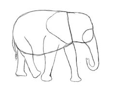 How To Draw An Elephant | Draw Central