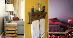 Nápady na nábytek a dekorace z dřevěných palet