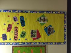 Great photo of themed classroom