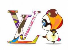 When Louis Vuitton go Superflat...