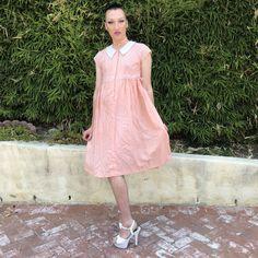 540c85ed1e8 sweet peach dress 🍑 This dress gives off such cute A on - Depop Cute
