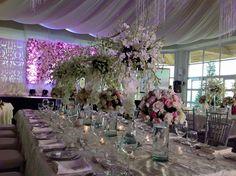 presidential table set up dangwa florist    vip table, principal sponsor's table, wedding, table set up