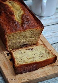 Cake à la banane, Chocolat, Mascarpone ... très très moelleux!