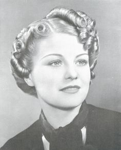 1930-  now this hair is art,, would have hated to style her...