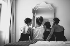 A Bride and her maids. Gorgeous Algonquin Resort Wedding in St. Andrews By-The-Sea