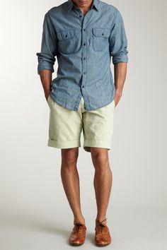 Bermuda Shorts- above the knee pants, worn by men, Named from the Island Bermuda.