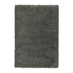 IKEA - GÅSER, Teppich Langflor, 133x195 cm, , Ein langfloriger Teppich wirkt geräuschdämmend und es ist angenehm, darauf zu laufen.Aus Synthetikfasern und daher robust, fleckabweisend und leicht zu reinigen.Durch den langen Flor lassen sich mehrere Teppiche zusammensetzen, ohne dass Übergänge sichtbar sind.