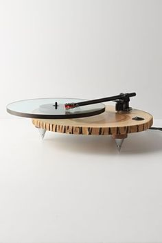 Barky Turntable: Handmade and gorgeous.