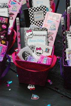 Monster High Party - lembrança para convidados