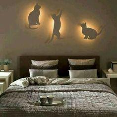 Luminarias - Gatos