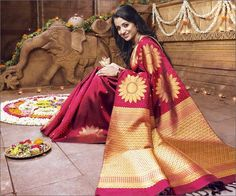 Silk sarees are given pride of place as every socialite decides to attend soirees, and functions. Add beauty to your saree with Designer Blouse Designs!