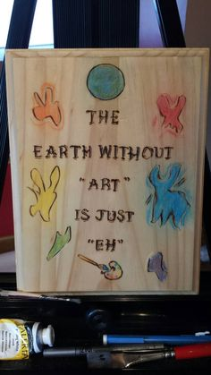 earth without art by rusticcharmbyrachel on etsy arts crafts rustic charm