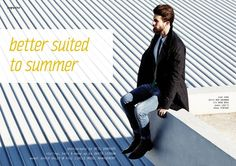 BETTER SUITED TO SUMMER - Fashion Editorial by Neil Danvers