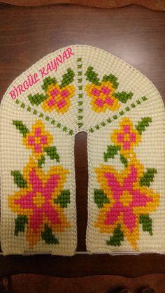 Tunisian Crochet, Knitting Socks, Diy And Crafts, Slippers, Panda, How To Make, Handmade, Tejidos, Breien