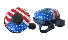 American Flag Bicycle Bell