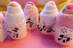 Mini Cupcake Baby Shower Favors