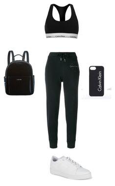 """Calvin Klein outfit"" by marilena-beiko on Polyvore featuring Calvin Klein"