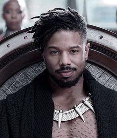Black Panther King, Black Panther Marvel, Michael B Jordan, Hot Black Guys, Black Boys, Black Men Hairstyles, Haircuts For Men, Jordan Wife, Beauty
