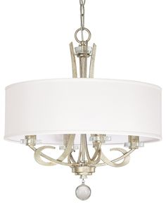 South Shore Decorating: Capital Lighting 4264WG-568 Hutton Transitional Chandelier CP-4264WG-568