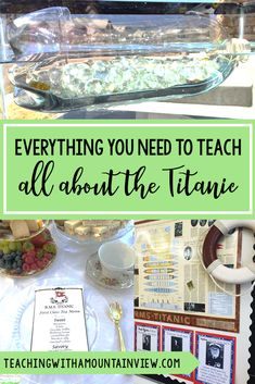 Are you looking for a FUN and HANDS-ON unit in third, fourth, or fifth grade? One of my favorite things to teach in #upperelementary is all about the Titanic. We integrate it into almost every subject area and students enjoy the project-based learning approach. Check out my best experiment and activity ideas all about the Titanic! #titanic #upperelementary #lessonideas