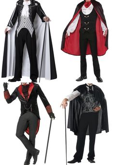 A vampire costume without the cape and plastic accessories makes a nice outfit. Dracula Costume, Vampire Costumes, Cosplay Costumes, Couple Halloween Costumes, Halloween Outfits, Stylish Outfits, Cool Outfits, Scary Vampire, Vampire Party