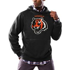 Cincinnati Bengals Majestic Critical Victory Pullover Hoodie - Black - $54.99