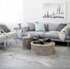 Love the coffee tables