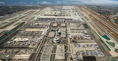 Aluguel de carro no aeroporto de Los Angeles #viagem #california