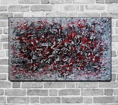 Kunstgalerie-Winkler-Abstrakte-Acrylbilder-Malerei-Leinwand-Unikat-XL-Bilder-Neu