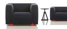 barber osgerby sofa leg detail - Google Search