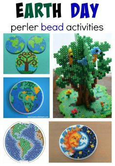earth day perler bead activities