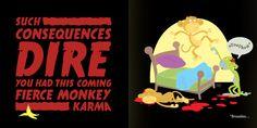 Zombie Monkeys - from the book Monster Haiku Vol. 1