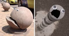 Someone In Bulgaria Is Putting Googly Eyes On Broken Street Objects, And It's Even Better Than Fixing Things | Bored Panda