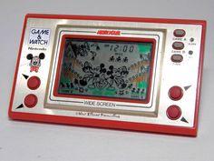 Nintendo Game & Watch Wide Screen Mickey Mouse MC-25 MIJ 1981 Good Condition_80 #Nintendo