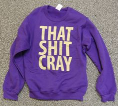 i WANT this sweatshirt!!