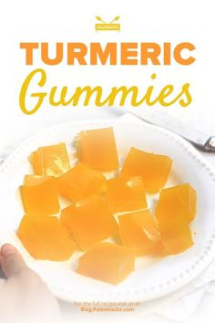 Turmeric Gummies (Anti-Inflammatory Paleo) - Unflavored Water - Ideas of Unflavored Water - turmeric Turmeric Recipes, Paleo Recipes, Cooking Recipes, Candy Recipes, Healthy Nutrition, Healthy Snacks, Healthy Eating, Stay Healthy, Fruit Snacks