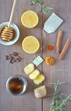 Hot Toddy recipe with a twist: The Intensitoddy. Lemon + Ginger + Rum...yum.