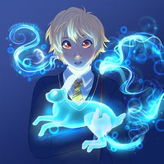 Yukine and his rabbit Patronus as a Hogwarts student Au from Noragami the Anime Noragami, Harry Potter Crossover, Yatori, Unlikely Friends, Miraculous Ladybug Movie, Most Beautiful Eyes, Love Me Forever, Profile Photo, Game Art