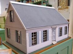 Words and Pictures: Dollshouse Gallimaufry  The Cape Cod