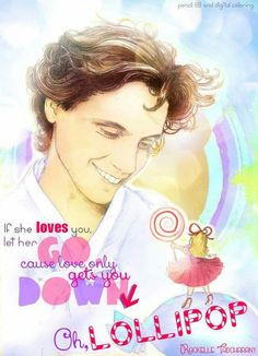 Mika Fan Art - Lollipop #MikaLyrics