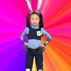 Zootopia Judy Hopps Kids Cosplay