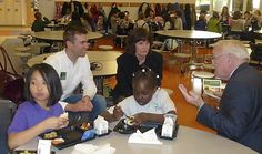 St. Paul schools get national attention for their success in providing healthy school meals!