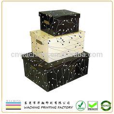 Custom Fancy Decorative Paper Storage Box With Lids Wholesale .