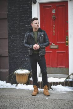 Timberland's x Black Jeans
