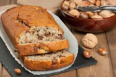 Dessert Aux Fruits, Banana Bread, Food And Drink, Nutrition, Recipes, Cakes, Four, Butter, Pie